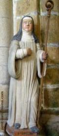 Sainte Adeline, Abbaye Blanche