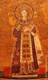 Sainte Agnès de Rome, mosaïque
