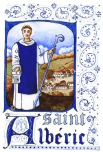 Saint Albéric, illustration Anne Floc'h
