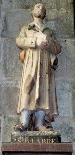 Benoit-Joseph Labre - Cathédrale de Tréguier