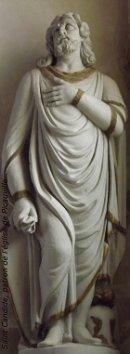 Saint Candide patron de l'église de Picauville