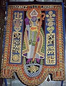 Oriflamme de Saint Corentin, église paroissiale de Locronan