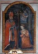 Saint Eutrope bénissant Sainte Estelle
