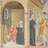 La charité de Françoise soutenue par les miracles de Dieu: celui du vin