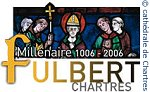saint Fulbert, cathédrale de Chartres