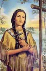 La bienheureuse Kateri Tekakwitha, le lys des iroquois