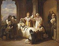 Sainte Marguerite de Hongrie, Toile de Molnár József