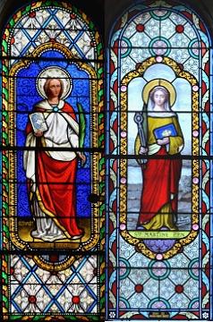 vitraux Sainte Martine