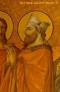 St-Melaine, le patron du diocèse de Rennes