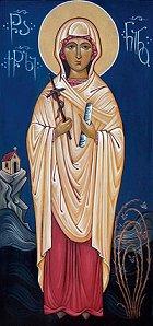 Sainte Nino de Géorgie