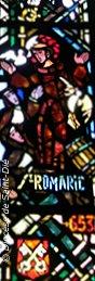 vitrail - saint Romaric - diocèse de Saint-Dié