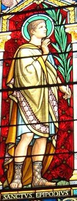 vitrail de l'église Saint Irénée, Lyon