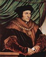 Thomas More, par Hans Holbein le Jeune - 1527